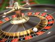 Leinwandbild Motiv Casino Roulette - 3d render