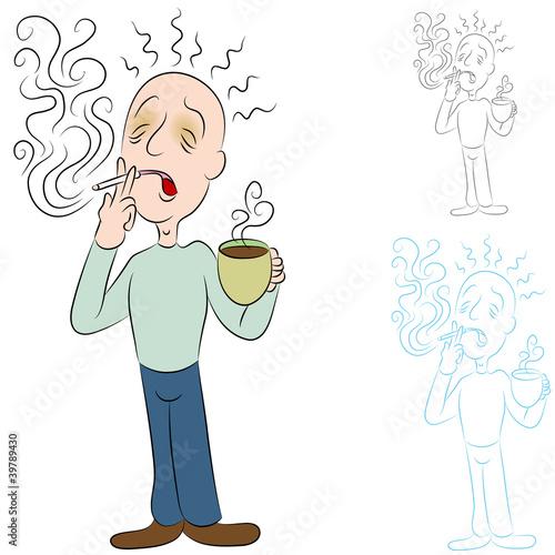 香气烟雾特效素材