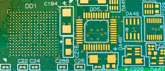 Printed circuit board with no elements
