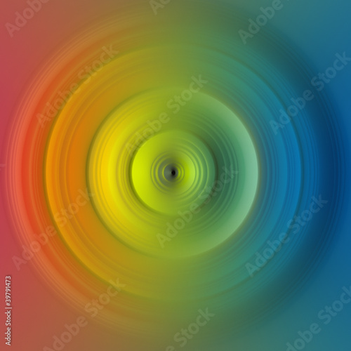 abstract spectrum of color