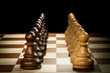 wooden chess pawn