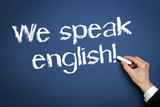 Fototapety We speak english