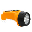 electric pocket flashlight isolated on white (clipping path)