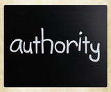Authority poster