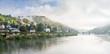 Morgennebel über dem Neckar