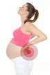 schwangere frau mit rückenschmerzen 2