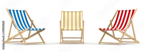 3 deck chair