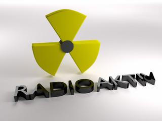 Radioaktiv Strahlung