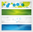 abstract vector header / banner