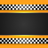 Fototapety Taxi cab blank template