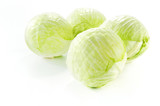 Four cabbages