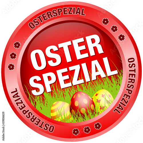 Button Osterspezial Ostereier rot