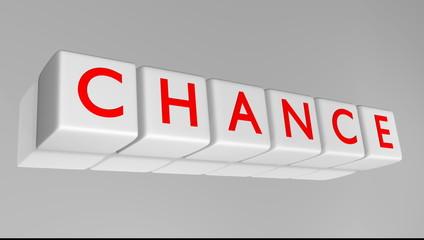 chance - change / Mut haben