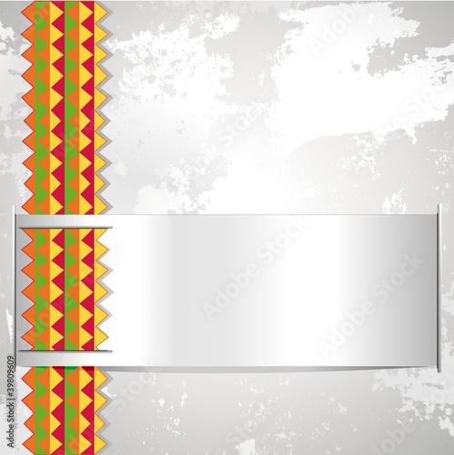 Etnico Sfondo Astratto-Ethnic Africa Label Abstract Background