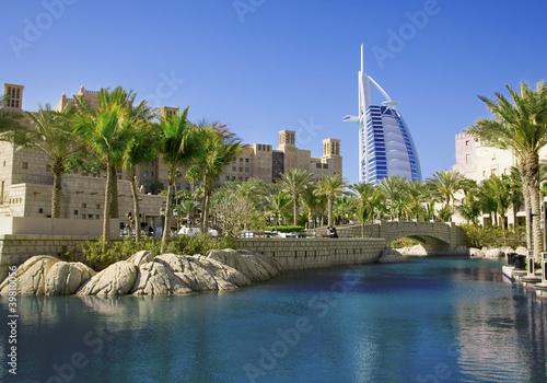 Plexiglas Dubai Dubai skyline