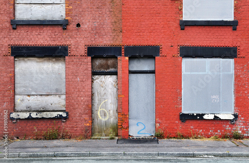 Derelict Terraced Housing