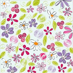 floral background, easter