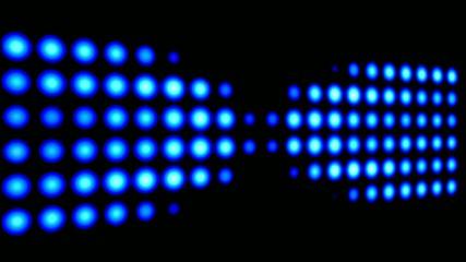 blaues led lichtband