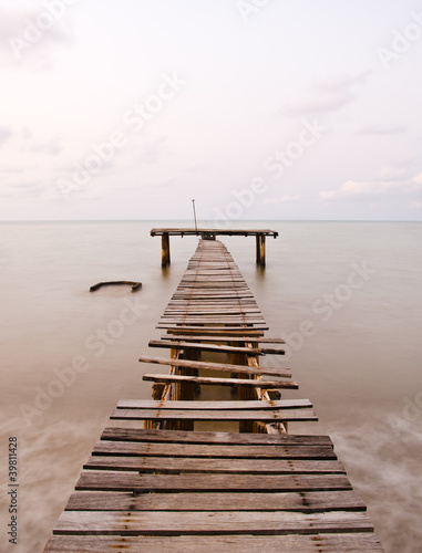 old sea pier © red_hayabusa