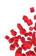 Banner - Fliegende Würfel Rot