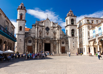 The Cathedral of Havana