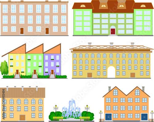 Suburban small houses. © RADIANT
