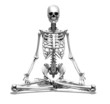 Meditation Skeleton