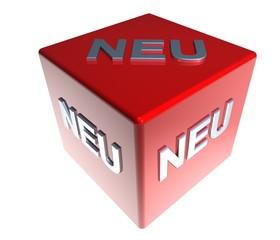 3D ZauberWuerfel - NEU