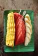 Fresh fruit breackfast