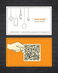 Sketchy Business Card