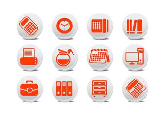 office equipment buttons