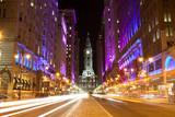 Fototapety Philadelphia streets  by night