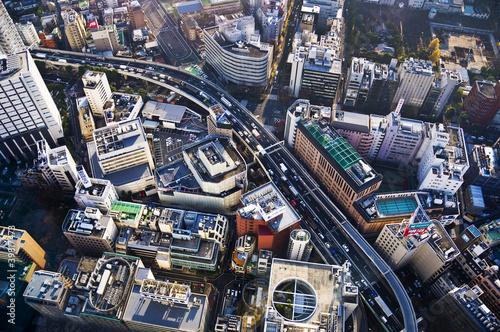 Fotobehang Tokyo Ikebukuro à Tokyo, vue d'en haut - Japon