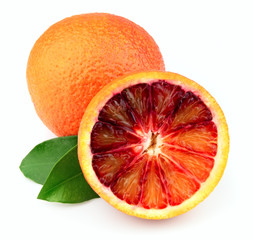Ripe red orange