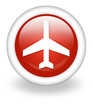 "Light Red Icon ""Airport / Airplane"""