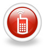 "Light Red Icon ""Cell Phone"""
