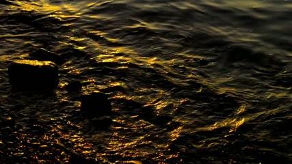 Abendstimmung am Wasser