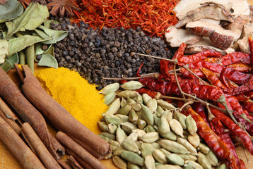 Indian Cookery Spices