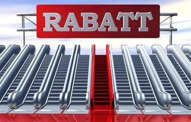 3D Rolltreppe - RABATT