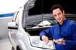 Mechanic at the repair shop