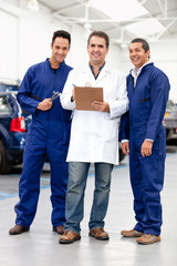Group of mechanics