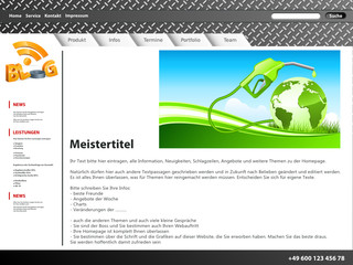 Website - Blog und Thema Tanken