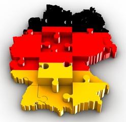 deutschland puzzle