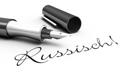 Russisch! - Stift Konzept