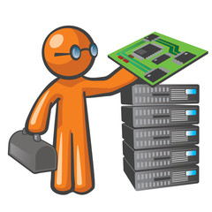 Orange Man Server Technician
