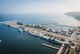 Fototapety Gdynia Skwer Kościuszki widziany z Sea Towers