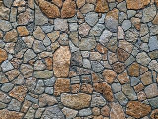 Natursteinwand