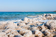 crystalline coastline of Dead Sea