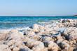 crystalline coastline of Dead Sea