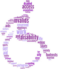pittogramma - tagcloud invalidi